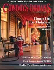 Cowboys & Indians Magazine Subscription November 1st, 2020 Issue