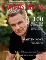Cowboys & Indians Magazine Subscription July 1st, 2021 Issue