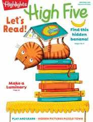 Highlights High Five Magazine Subscription November 1st, 2020 Issue