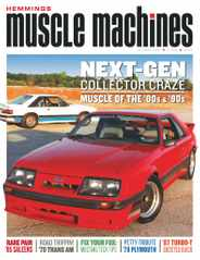 Hemmings Muscle Machines Magazine Subscription October 1st, 2020 Issue