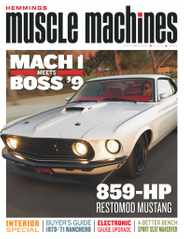 Hemmings Muscle Machines Magazine Subscription September 1st, 2021 Issue