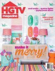 HGTV Magazine Subscription December 1st, 2020 Issue