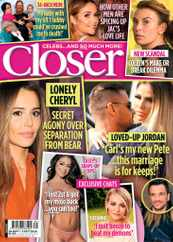 Closer Magazine Subscription September 26th, 2020 Issue