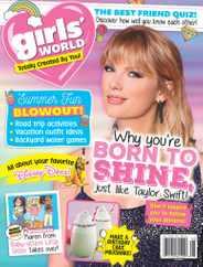 Girls World Magazine Subscription August 1st, 2021 Issue