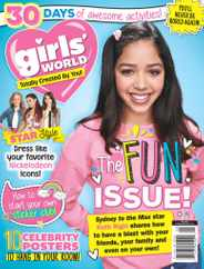Girls World Magazine Subscription May 1st, 2021 Issue