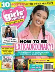 Girls World Magazine Subscription November 1st, 2021 Issue