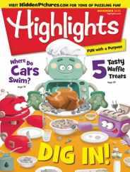 Highlights For Children Magazine Subscription November 1st, 2020 Issue