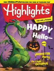 Highlights For Children Magazine Subscription October 1st, 2020 Issue