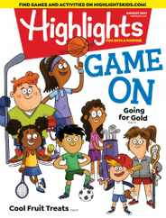 Highlights For Children Magazine Subscription August 1st, 2021 Issue