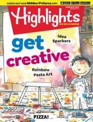 Highlights For Children Magazine Subscription February 1st, 2021 Issue