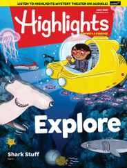 Highlights For Children Magazine Subscription July 1st, 2021 Issue