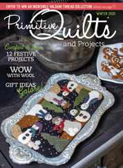 Primitive Quilts & Projects Magazine Subscription October 12th, 2020 Issue