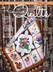Primitive Quilts & Projects Magazine Subscription April 15th, 2021 Issue