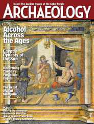 Archaeology Magazine Subscription November 1st, 2020 Issue