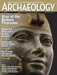 Archaeology Magazine Subscription September 1st, 2020 Issue