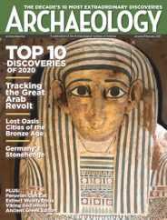 Archaeology Magazine Subscription January 1st, 2021 Issue