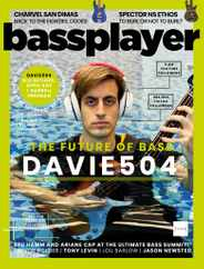 Bass Player Magazine Subscription August 1st, 2021 Issue