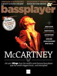 Bass Player Magazine Subscription May 1st, 2021 Issue