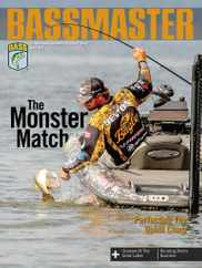 Bassmaster Magazine Subscription April 1st, 2021 Issue