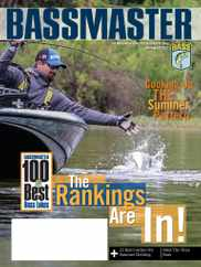 Bassmaster Magazine Subscription July 1st, 2021 Issue