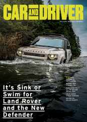 Car and Driver Magazine Subscription November 1st, 2020 Issue