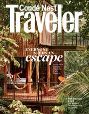 Conde Nast Traveler Magazine Subscription January 1st, 2021 Issue