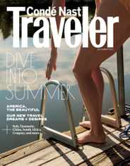 Conde Nast Traveler Magazine Subscription July 1st, 2021 Issue