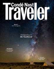 Conde Nast Traveler Magazine Subscription March 1st, 2021 Issue