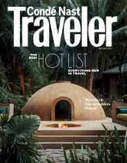 Conde Nast Traveler Magazine Subscription May 1st, 2021 Issue