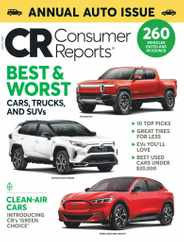 Consumer Reports Magazine Subscription April 1st, 2021 Issue
