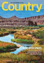 Country Magazine Subscription August 1st, 2020 Issue
