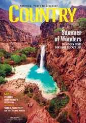 Country Magazine Subscription June 1st, 2021 Issue