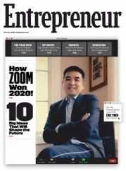 Entrepreneur Magazine Subscription December 1st, 2020 Issue