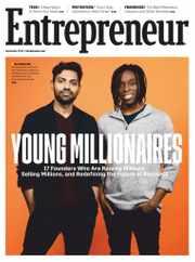 Entrepreneur Magazine Subscription September 1st, 2020 Issue