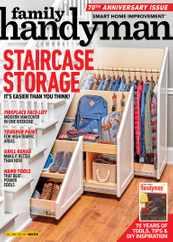 Family Handyman Magazine Subscription December 1st, 2020 Issue