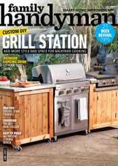 Family Handyman Magazine Subscription June 1st, 2021 Issue