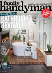 Family Handyman Magazine Subscription October 1st, 2021 Issue