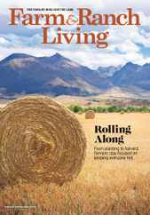 Farm & Ranch Living Magazine Subscription August 1st, 2020 Issue