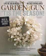 Garden & Gun Magazine Subscription December 1st, 2020 Issue