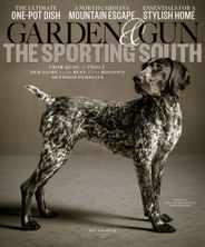 Garden & Gun Magazine Subscription October 1st, 2020 Issue