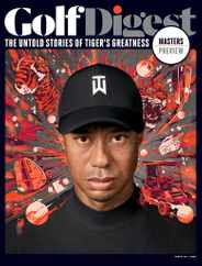 Golf Digest Magazine Subscription November 1st, 2020 Issue