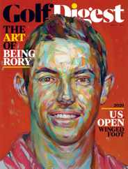 Golf Digest Magazine Subscription October 1st, 2020 Issue