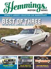 Hemmings Motor News Magazine Subscription January 1st, 2021 Issue