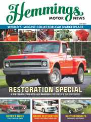Hemmings Motor News Magazine Subscription May 1st, 2021 Issue