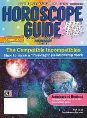 Horoscope Guide Magazine Subscription November 1st, 2020 Issue