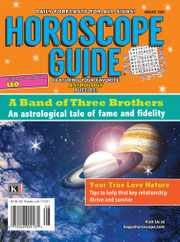 Horoscope Guide Magazine Subscription August 1st, 2021 Issue