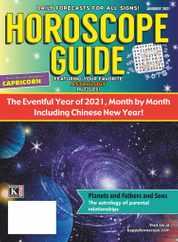 Horoscope Guide Magazine Subscription January 1st, 2021 Issue