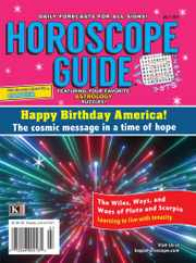 Horoscope Guide Magazine Subscription July 1st, 2021 Issue