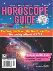 Horoscope Guide Magazine Subscription May 1st, 2021 Issue