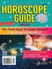 Horoscope Guide Magazine Subscription October 1st, 2021 Issue